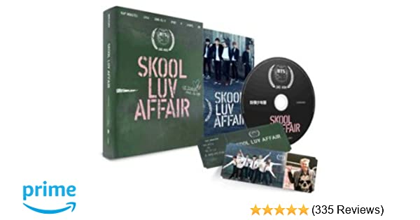 Skool Luv Affair Incl  115-page photobook and one random photocard