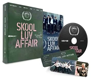 Skool Luv Affair Incl  115-page photobook and one random photocard