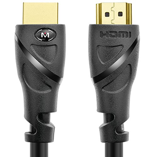 Mediabridge HDMI Cable (25 Feet) - Supports 4K@60Hz - High Speed, Hand-Tested, HDMI 2.0 Ready - UHD, 18Gbps, Audio Return Channel, Ethernet (Part# 91-02X-25B)