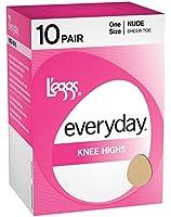L'eggs Everyday Knee Highs ST 10 Pair # 39800
