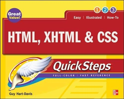 HTML, XHTML & CSS QuickSteps by McGraw-Hill Education