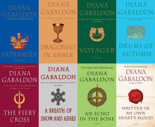 Diana Gabaldon Outlander Series 8 Book Set (1- 8) (Corp Arrow Lost)