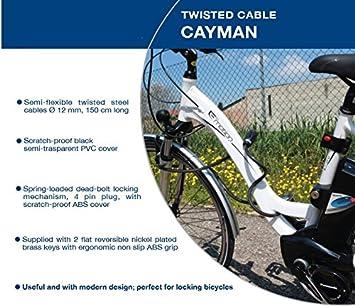 Haute qualité Twisted câble antivol Cayman/Heavy Duty Antivol pour ...
