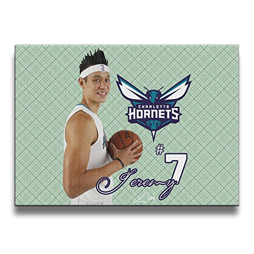 ReBorn Jeremy Basketball Frameless Canvas Prints Painting For Home Office Decor