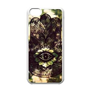 Hamsa Customized Cover Case with Hard Shell Protection for Iphone 5C Case lxa#241328