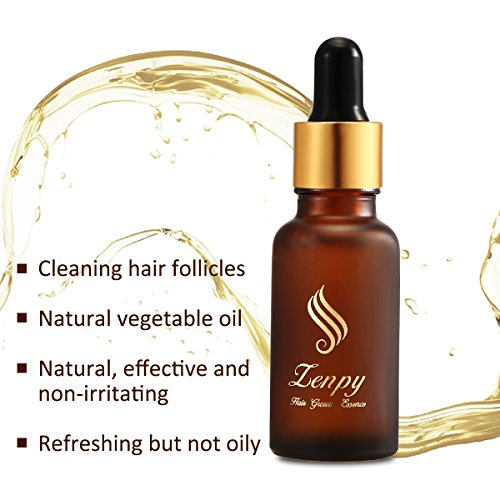 Zenpy Hair Growth Essence Oil Strengthens Hair Roots Grow Longer Anti Hair Loss & Hair Thinning Treatment Hair Serum Professional Hair Care Styling Products -20ml by Zenpy (Image #3)
