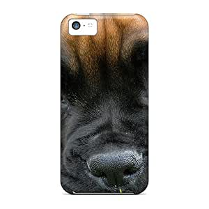Premium Animals Sad Dog Heavy-duty Protection Cases For Iphone 5c