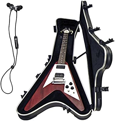 SKB 1SKB-58 Gibson Flying V - Funda rígida para guitarra eléctrica ...