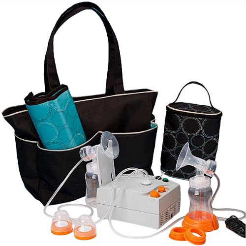 Hygeia EnJoye LBI Breast Pump, Black Bag, QTY: 1 by Hygeia