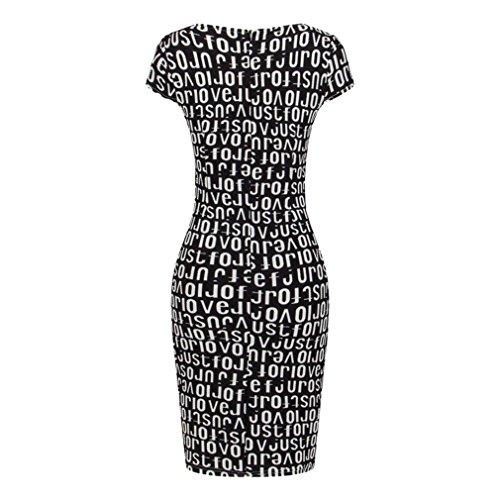 La vogue Damen Bleistift Paket-Hüfte Kleid Business Festlich Kleider
