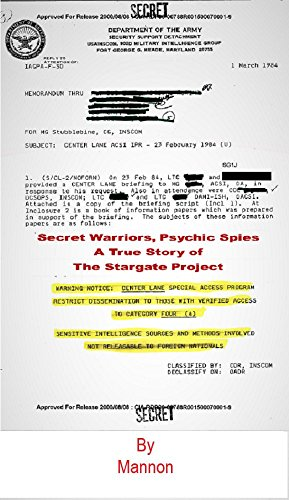 Secret Warriors, Psychic Spies: Based on a True Story of the Stargate  Project