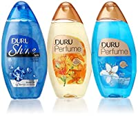 Duru 3 Piece Shower Gel Variety Pack, Sapphire/Lily/Aqua Love