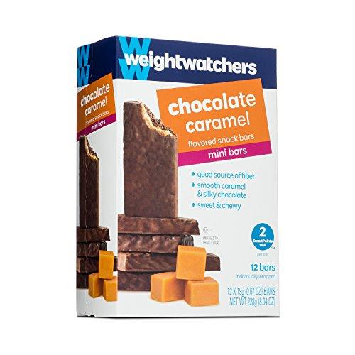 Weight Watchers Mini Bars, Chocolate Caramel, 12 bars per box