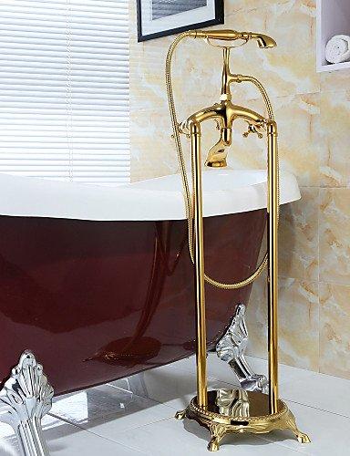 BO Grifo para bañera latón antiguo-- -Docetta incluida/Columna de ...