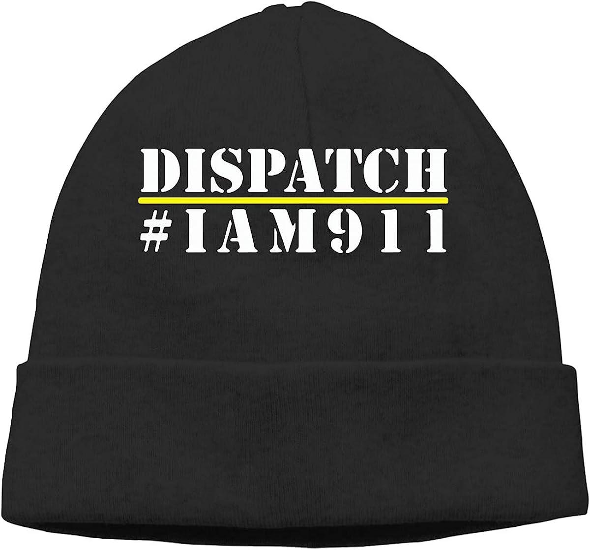 I Am 911 Dispatcher Men /& Women Daily Slouchy Cycling Beanie Cap