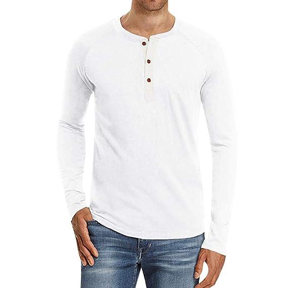 Mens Spring Loose Shirt Balakie Button Linen Cotton O Neck Casual Top Blouses