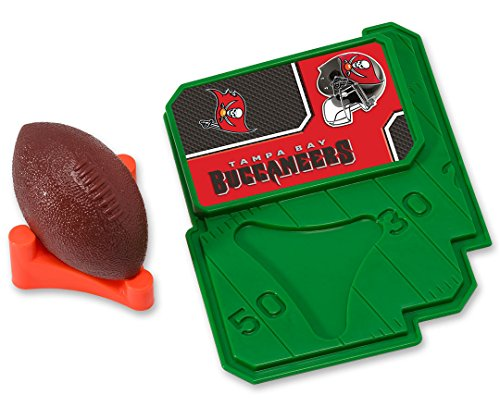 Tampa Bay Buccaneers Candy - CAKEMAKE NFL Football & Tee, Cake Topper, Tampa Bay Buccaneers