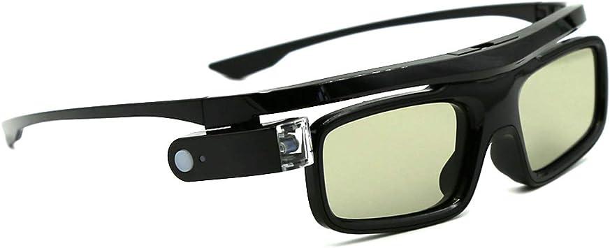 3D Gafas, Cocar Obturador Activo Recargables 3D Gafas ...