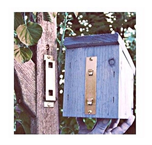 Birdhouse Bracket - BIRD HOUSE WALL HANGER BRACKET HOLDS UP TO 18 LBS