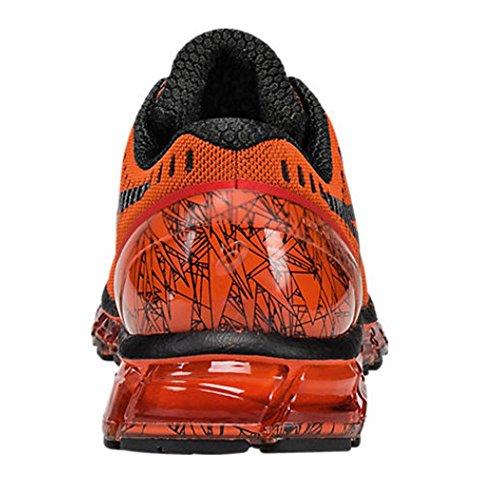 Asics gel-quantum 360t5j1N-0990-Zapatos de color naranja Rojo