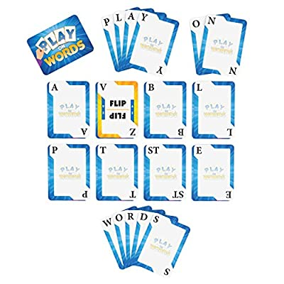 Play On Words Card Game - Extra-Creative Word Making Fun for All Ages - A Parents' Choice Award Winner: Toys & Games