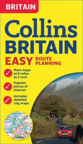 (Collins Britain Easy Route Planning Map)