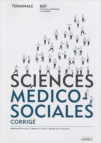 Livre gratuits Sciences médico-sociales Tle BEP CSS : Corrigé Travaux dirigés/Fiches méthodologiques pdf, epub