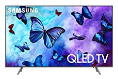 The eye will savor the 2018 Q6. Welcome to the prestigious QLED lineup that tantalizes your vision with 1 billion+ shades of Q color while ambient mode alters the screen into transparent like art.