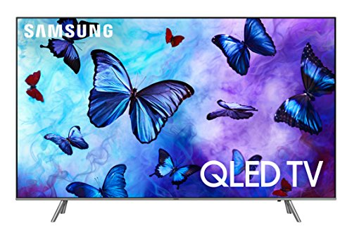 "Samsung QN55Q6F Flat 55"" QLED 4K UHD 6 Series Smart TV 2018 -"