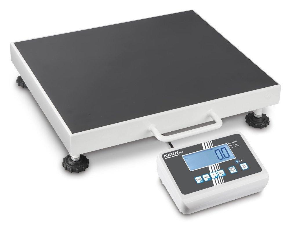 Balanza pesapersonas de suelo (transitable) profesional [Kern MPC 300K-1LM] con aprobación de homologación y médica, Campo de pesaje [Max]: 300 kg, ...