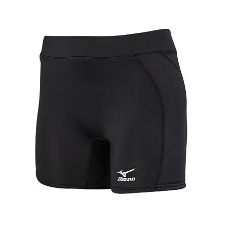 Mizuno Low Rise Women/'s Black Compression Sliding Short Sizes XXS-XL