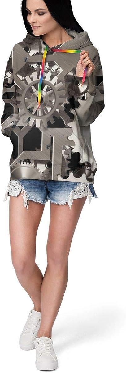 Women Long Sleeves Hoodies Pullover Hooded Sweatshirts Slim Fit Tracksuits