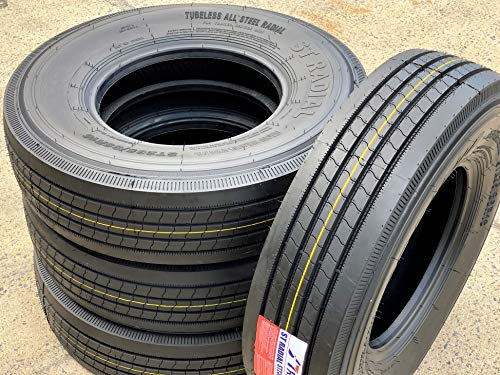 Set of 4 (FOUR) Transeagle ST Radial All Steel Heavy Duty Premium Trailer Tires - ST235/85R16 132/127M G (14 Ply)