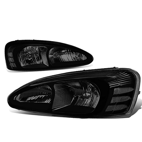 Pontiac Grand Prix 7th Gen FT1 GT2 GTP Pair of Smoked Lens Clear Corner Headlight Lamp