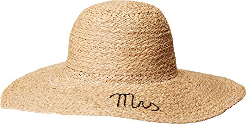 Hat Attack Women's What's Your Motto Sun Hat Mrs One Size by Hat Attack