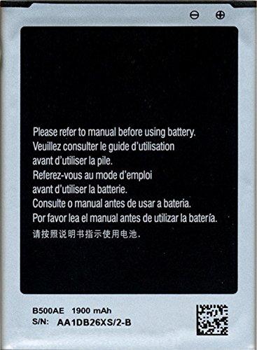 PowerFull Tech Genuine Battery B500AE B500BE B500BU B500BZ For Samsung Galaxy S 4 Mini GT-I9190 / Samsung Galaxy S4 Mini GT-I9192 GT-I9195 1900 mAh by PowerFull Tech