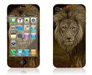 The Old Lion - iPhone 4/4S Protective Skin Decal Sticker