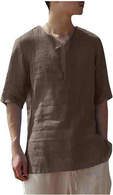 Camisa hawaiana para hombre, manga corta popy, talla grande 3XL, vestido de camisa blanca para hombre