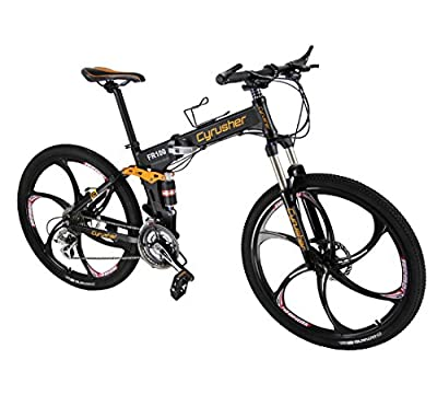 FR100 Hummer Shimano Full Suspenion Mountain Bicycle ALTUS 24 Speeds Folding Mens Mountain Bike Soft Tail Disc Brakes