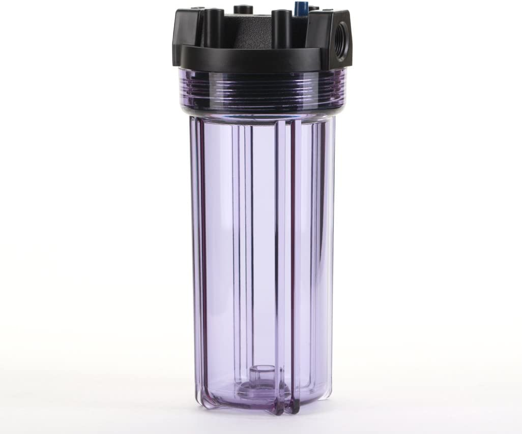 Hydronix HX-CB-25-1005//3 Whole House RO /& Drinking Systems NSF Coconut Carbon Block Water Filter 2.5 x 10-5 micron White