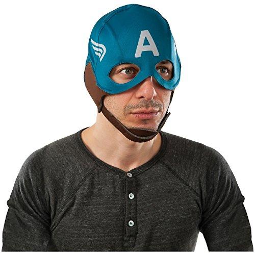 Rubie's Men's Marvel Universe Captain America Winter Soldier Retro Mask, Multicolor, One Size for $<!--$9.80-->