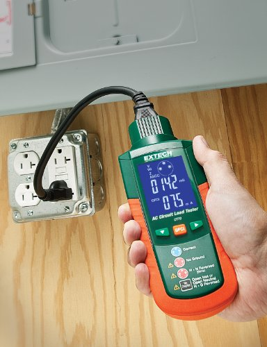 Ac Circuit Testers : Extech ct ac circuit load tester street