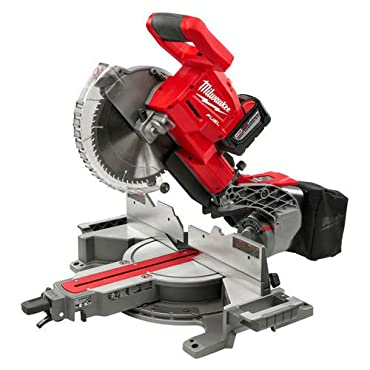 Milwaukee Electric Tool 2734-21HD M18 Fuel, Dual Bevel, Sliding, Compound Miter Saw, 10