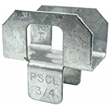 Simpson Strong Tie PSCL 3/4 20-Gauge 3/14 in. Plywood Sheathing Clip (250 Qty) 250-per box