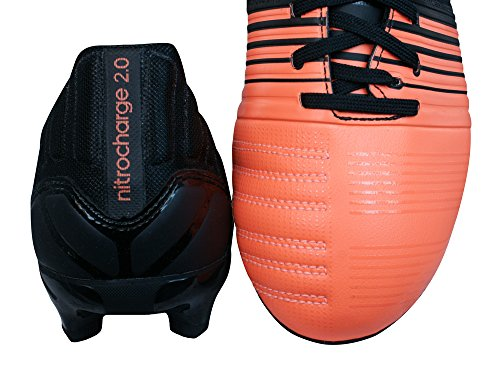 Boots 2 Black 0 FG Football Men's adidas Nitrocharge xFw4q5xY