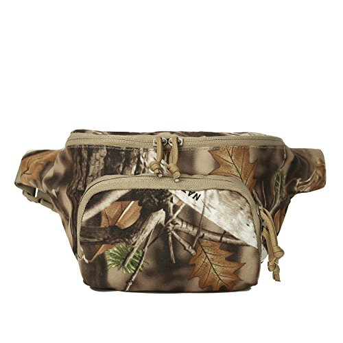 Fanny Pack Camouflage - Auscamotek Hunting Camo Fanny Pack Camouflage Waist Bag for Hunters Waterproof
