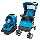 Cosco 01211CPEC Lift & Stroll Travel System, Peacock Blue