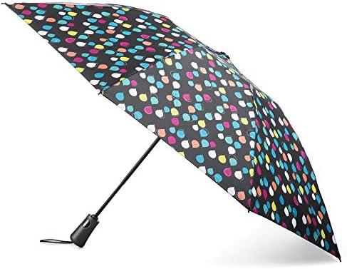 totes InBrella Reverse Folding Umbrella
