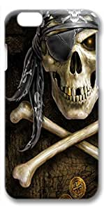 iPhone 6 Case, Ultra Slim Pattern Bumper for iPhone 6 Cover (4.7) Pirate 3D iPhone 6 cases for Girls iphone 6 case hard PC Skin