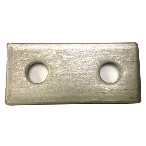 M12 two Hole fixing Plate for Channels T304 Stainless Steel (As Unistrut / Oglaend) Pack Size : 1